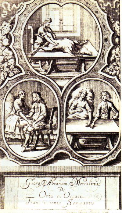 Les première transfusions sanguines ont eu lieu sous Louis XIV