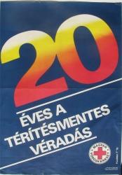 20 éves a térítésmentes véradá