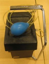 agitateur-limiteur pneumatique de prélèvement