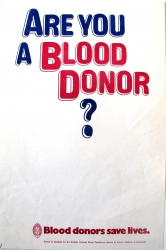Are you a blood donor ?