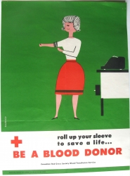 be a blood donor