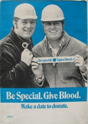 be special. give blood