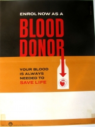 Enrol now as a BLOOD DONOR