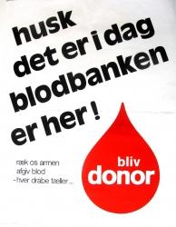 Husk det er i dag blodbanken er her