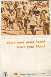 share your good health- share your blood