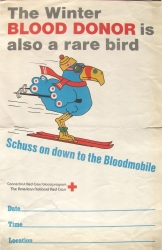 the winter blood donor is also a rare bird