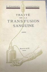 traité de la transfusion sanguine