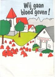 wij gaan bloed geven