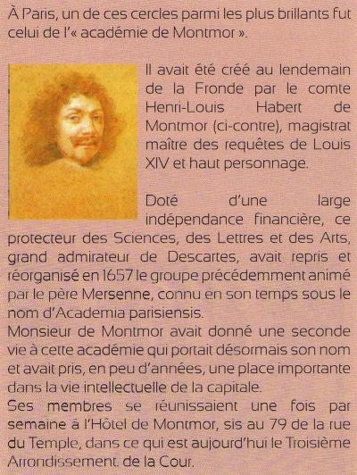 Académie de Montmor